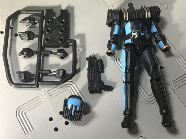 SHODO-X仮面ライダー2の3 仮面ライダーディエンド 更に開封