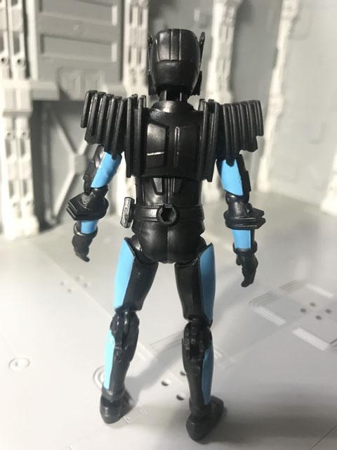 SHODO-X仮面ライダー2の3 仮面ライダーディエンド 後ろ姿