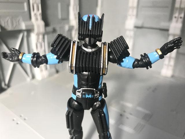 SHODO-X仮面ライダー2の3 仮面ライダーディエンド 肩が上がらないディエンド