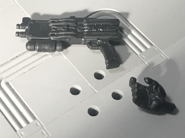 SHODO-X仮面ライダー2の3 仮面ライダーディエンド 銃と持ち手