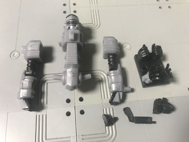 SHODO-X仮面ライダー2の6 拡張セット 完成