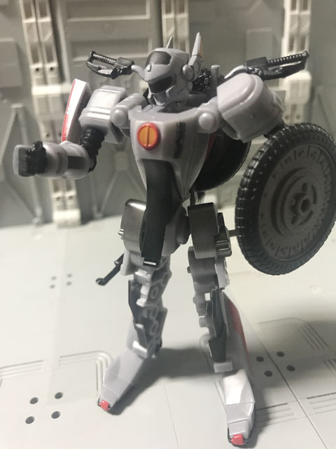 SHODO-X仮面ライダー2 オートバジン バトルモード パンチのポーズ1