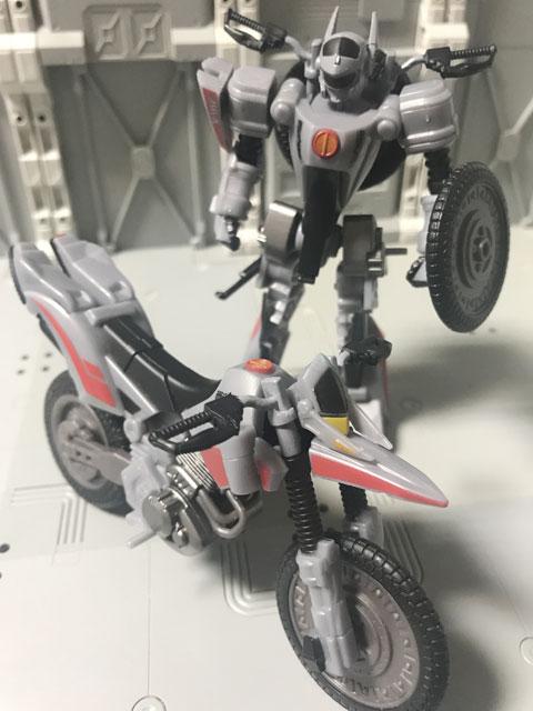 SHODO-X仮面ライダー2 オートバジン バトルモード とビークルモード