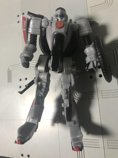 SHODO-X仮面ライダー2 オートバジン バトルモード 銀色じゃない