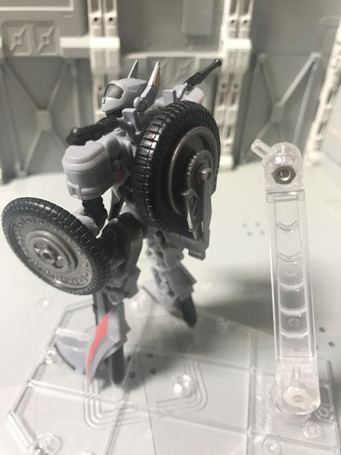 SHODO-X仮面ライダー2 オートバジン バトルモード とスタンド