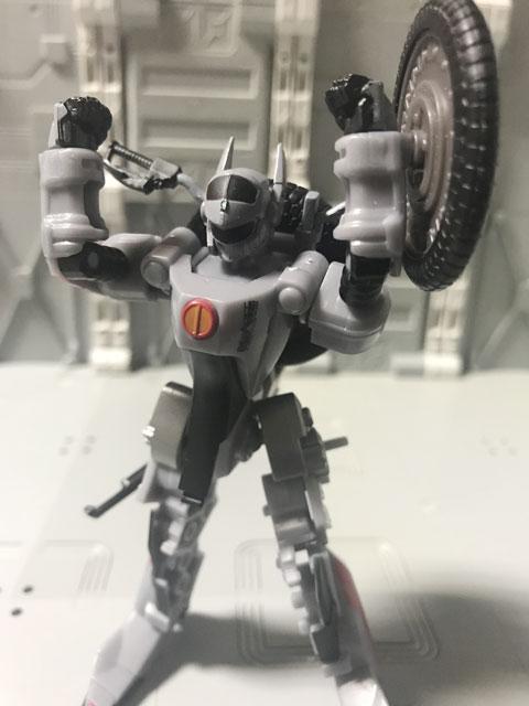SHODO-X仮面ライダー2 オートバジン バトルモード バンザイポーズ