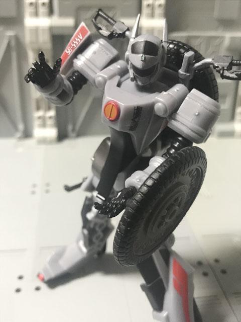 SHODO-X仮面ライダー2 オートバジン バトルモード カメハメ波のポーズ