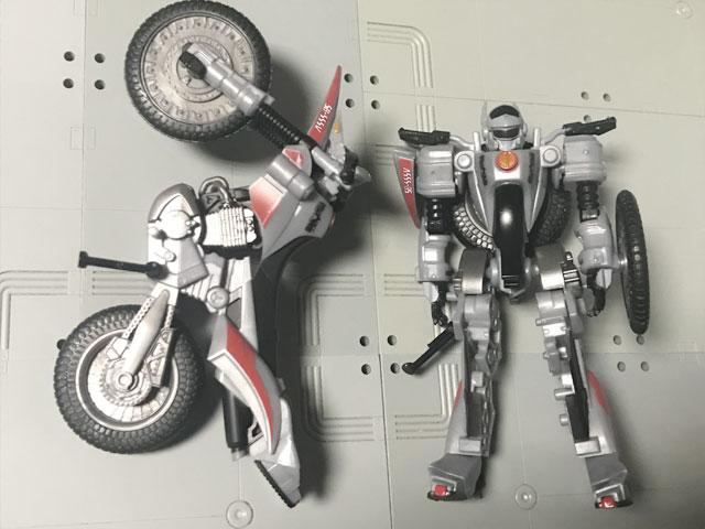 SHODO-X仮面ライダー2 オートバジン バトルモード とビークルモード2