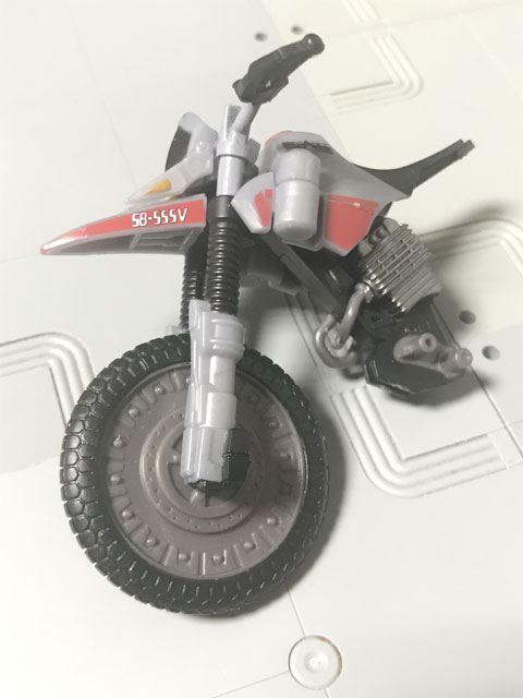 SHODO-X仮面ライダー2の4 オートバジン(A-side) 完成