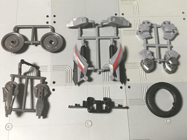 SHODO-X仮面ライダー2の4 オートバジン(A-side) 更に開封