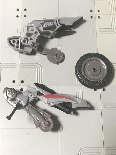 SHODO-X仮面ライダー2の5 オートバジン(B-side) 完成