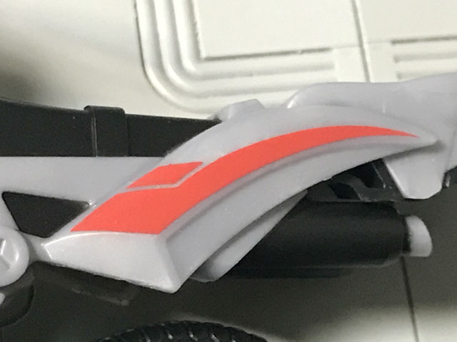 SHODO-X仮面ライダー2 オートバジン ビークルモード 細いデザインのアップ