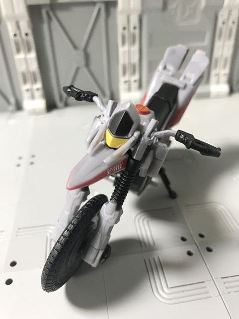 SHODO-X仮面ライダー2 オートバジン ビークルモード 斜めに立たせるスタンド