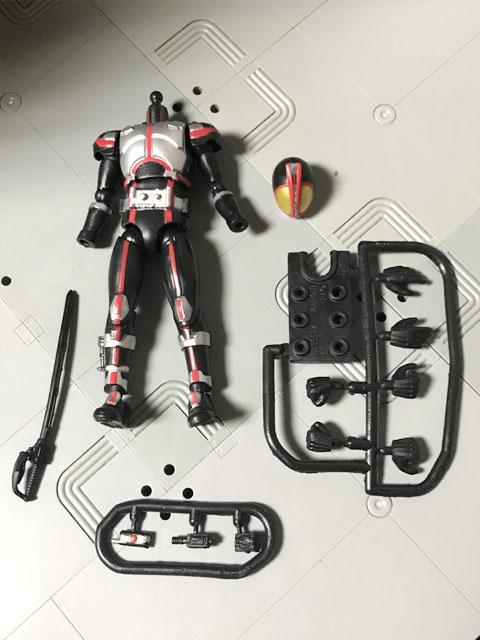 SHODO-X仮面ライダー2の1 仮面ライダーファイズ 更に開封