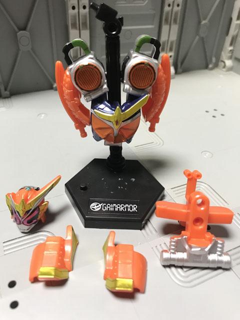 装動 仮面ライダージオウ RIDE5の3 完成