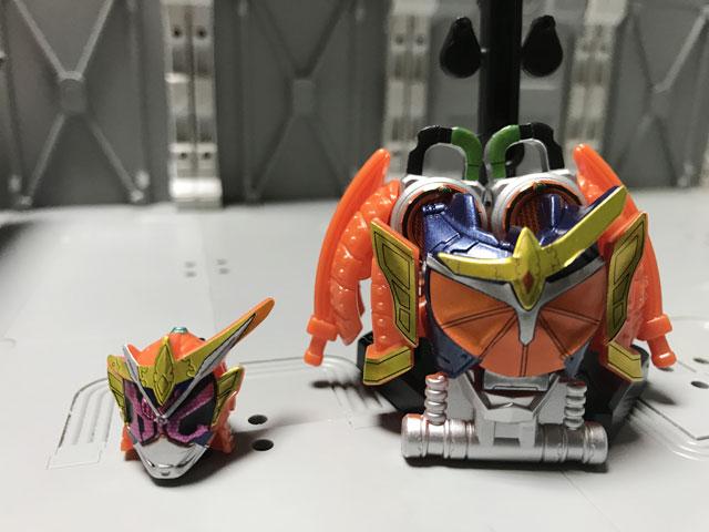 装動 仮面ライダージオウ RIDE5の3 オレンジ状態