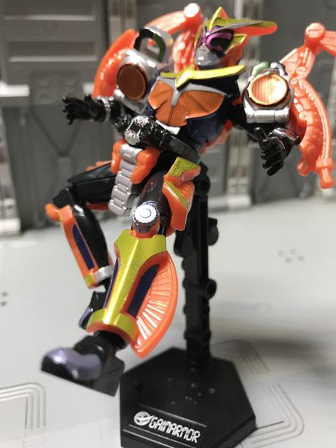 装動 仮面ライダージオウ RIDE5 仮面ライダージオウ 鎧武アーマー ライダーキック