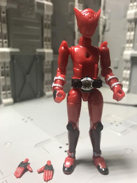 装動 仮面ライダージオウ RIDE5の7 完成