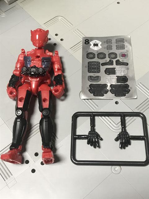 装動 仮面ライダージオウ RIDE5の8 開封