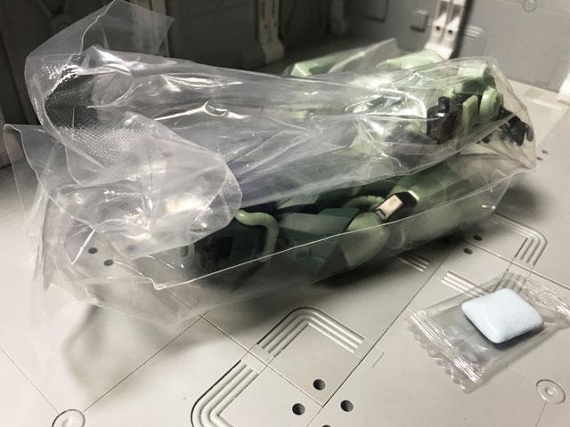 Gフレーム05 量産型ザク アーマーセット 開封
