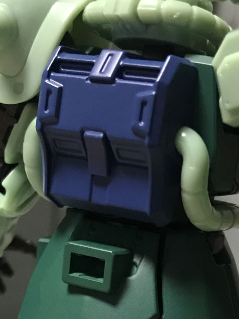Gフレーム05 量産型ザク 青紫色のランドセル